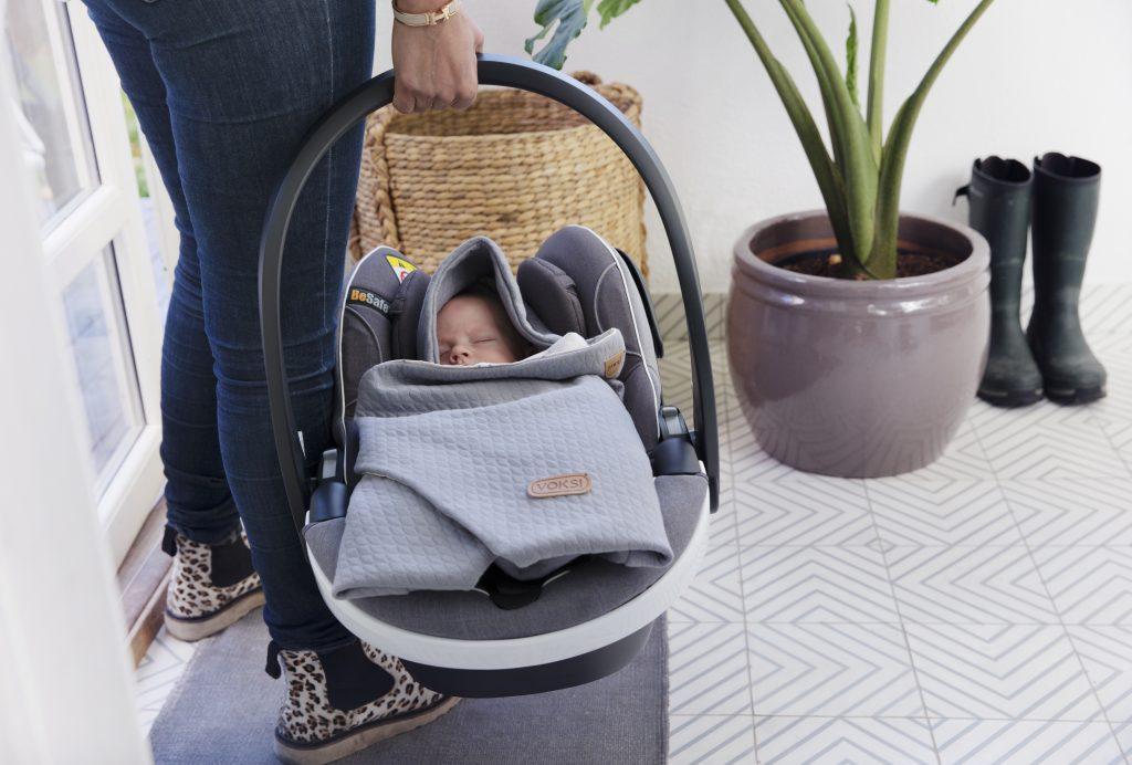 Voksi Baby Wrap - otulacz do fotelika