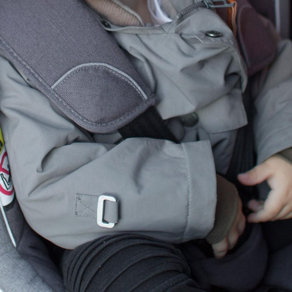 Przewożenie dziecka w kurtce jest niebezpieczne - blog BeSafe